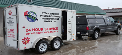 Jetting Mobile Steam Cleaning